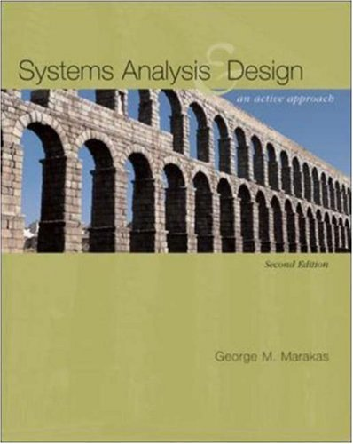 Systems Analysis & Design: An Active Approach