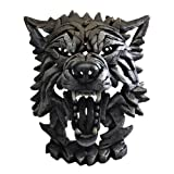 Sculpture Contemporary Wolf Head