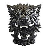 Sculpture Contemporary Wolf Head