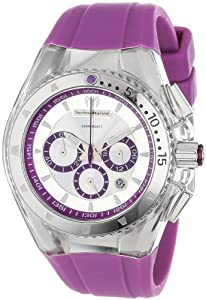 TechnoMarine Women's 111032 Cruise Original Lipstick Violet Watch