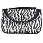 Zebra Travel Makeup Cosmetic Carry Ha...
