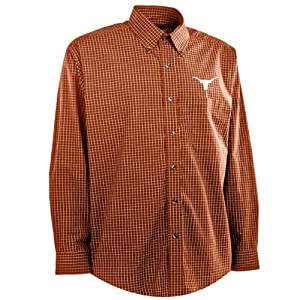 Texas Esteem Button Down Dress Shirt (Team Color) by Antigua