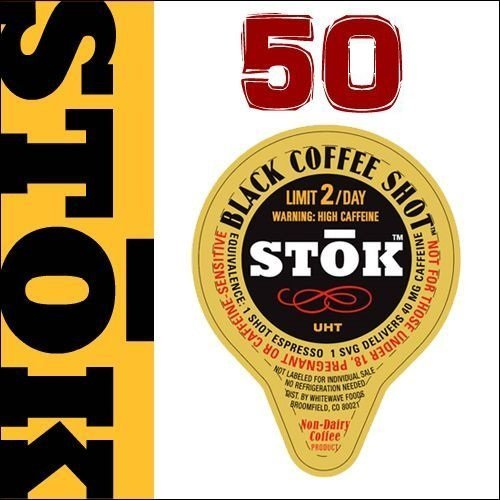 StoK Caffeinated Black Coffee Shots (Espresso Shot compare prices)