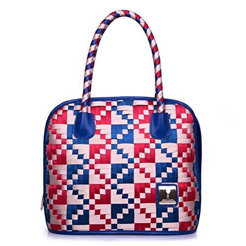 Les sacs à main des femmes européennes et américaines/sac à bandoulière de mode Retro/sacs à main tissés
