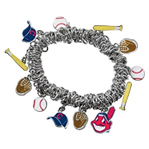 Game Time 101410 MLB Cleveland Indians Stretch Bracelet by Game Time