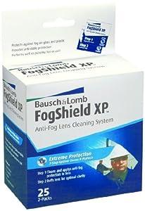 Fogshield Xp prehumedecida limpieza de la lente tejidos - - Amazon.com