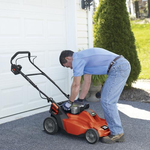 Best lawn mower - Black & Decker CM1936 19-Inch 36