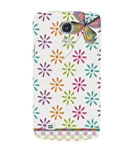 Butterfly Design 3D Hard Polycarbonate Designer Back Case Cover for Samsung Galaxy S4