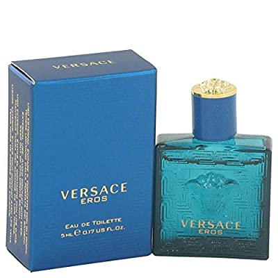 Best Cheap Deal for Versace Eros by Versace Men's Mini EDT .16 oz - 100% Authentic from Versace - Free 2 Day Shipping Available