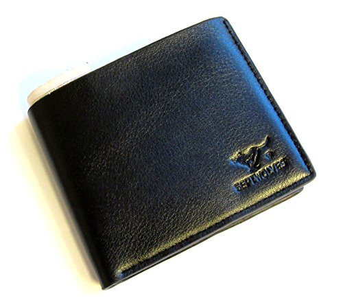 mens-quality-genuine-leather-wallet-id-credit-card-holder-gents-coin-purse-black