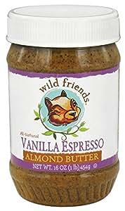 Wild Friends Almond Butter Vanilla Espresso -- 16 oz