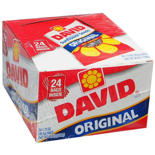 DAVID Sunflower seeds オリジナル 24パック ひまわりの種