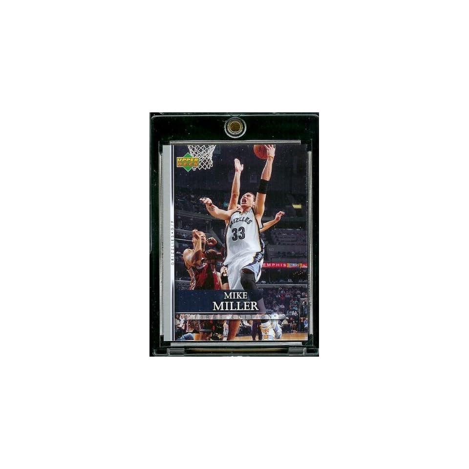 2007 08 Upper Deck First Edition # 16 Mike Miller   NBA