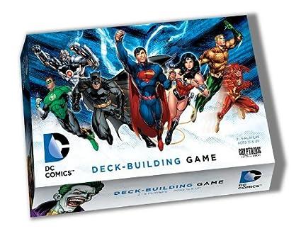 Cryptozoic Entertainment - 330247 - Jeu De Cartes - Dc Comics - Deck Building