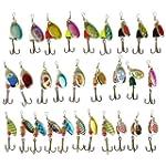 30 Spinner Super New Fishing Lure Pik...