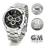 ★ Gifts for Men: Ultimate Designer Sports Watch (Great for Birthday, Anniversary, and Christmas) ★ ON SALE ★ Best Value ★ Perfect and Top Unique Gift for Your Dad, Husband, Father, Son, Papa, Brother, or Friend - 100% Satisfaction Guaranteed or Your Money Back
