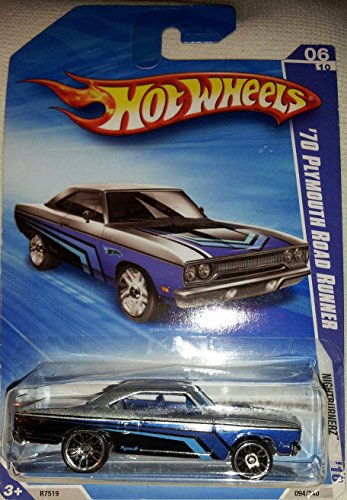 Hot Wheels - Blue - '70 Plymouth Road Runner - Nightburnerz