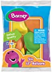 Barney 12 Assorted Color Balloons
