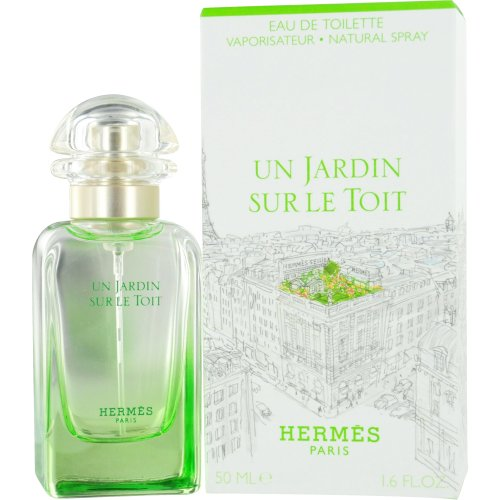 un jardin sur le toit by hermes eau de toilette spray for women 1 6 ounce women perfume. Black Bedroom Furniture Sets. Home Design Ideas