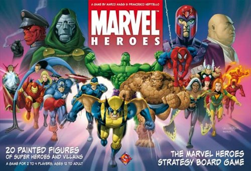 Buy Marvel Heroes Board Game