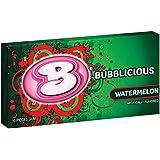 Bubblicious Bubble Gum, Watermelon Wave, 10-Piece Packs (Pack of 12)