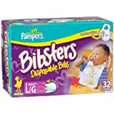 Bibster Large Disposable Bibs 32-Ct (Pack of 3)