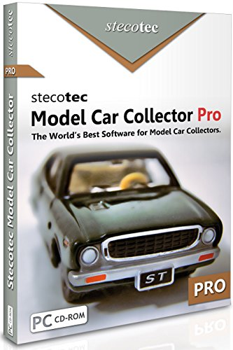 Collecting Software: Stecotec Model Car Collector Pro: Inventory Program for Your Diecast Collection - Management for Models and Accessories - Organizer