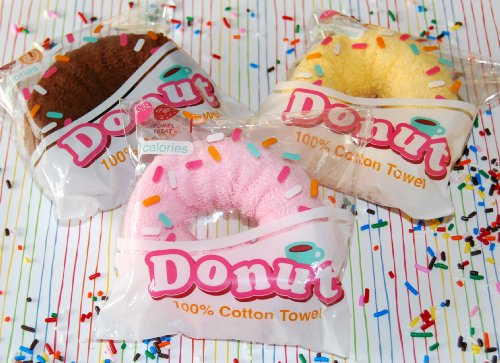 Towel Treat Towel Cakes, Donut