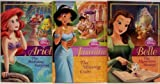 img - for Disney Princess Early Chapter Books - 3 Book Set (Belle, The Mysterious Message / Jasmine, The Missing Coin / Ariel, The Birthday Surprise) book / textbook / text book