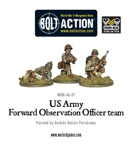 Us Forward Observer Officers Miniatures