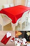 Xmasテーブルコーディネートおもてなしパーティー食卓デコレーションアクセントおまかせセット聖夜(Aタイプ)