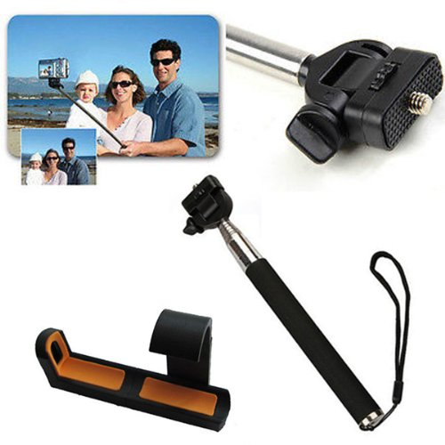 Handheld Monopod Extendable Telescope Holder Fr Samsung Galaxy S3 S4 I9300 I9500 Htc One M7