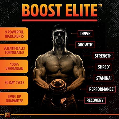 BOOST-ELITE-Testosterone-Booster-to-Increase-Testosterone-Libido-Energy-9-Powerful-Ingredients-Including-Tribulus-Terrestris-Fenugreek-Yohimbe-Maca-Horny-Goat-Weed-Tongkat-Ali-90-Caps
