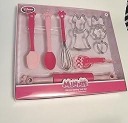 Disney Minnie Mouse Baking Tool Set