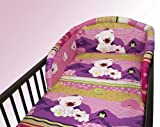 NEW COT BUMPER BABY NURSERY COLOURFUL DESIGNS 120x60cm140x70cm 180 cm Teddy Fish Pink