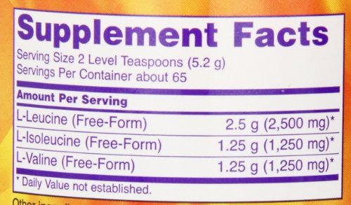 NOW Foods Branch Chain Amino Powder, 12 Ounces