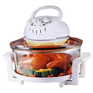 Infra Chef Family Size Halogen Oven Plus Extras