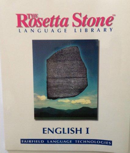 Rosetta Stone Language Library English 1