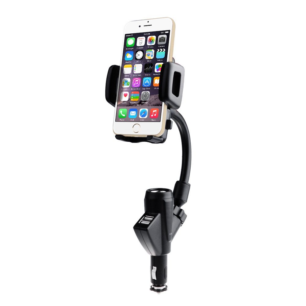 car mobile holder with charger