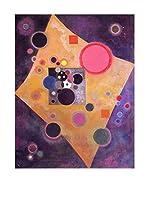 Especial Arte Lienzo Accento rosa - Kandisky Vassily Multicolor