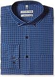 Geoffrey Beene Men's Formal Shirt (8907242478142_265208122_40_Navy)