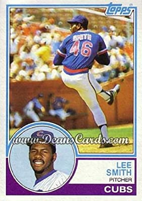 1983 Topps # 699 Lee Smith Chicago Cubs (Baseball Card) Dean's Cards 8 - NM/MT