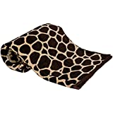 Jaipuri Haat Light Weight Super Soft Multi Colorful Single Mink Blanket With Heavy Duty Travel Bags (8X 5.3 Feet)