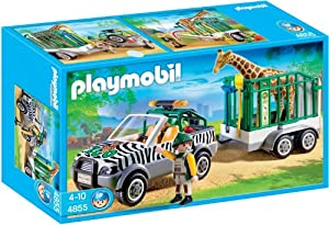 Playmobil 4855 Zoo Vehicle with Trailer