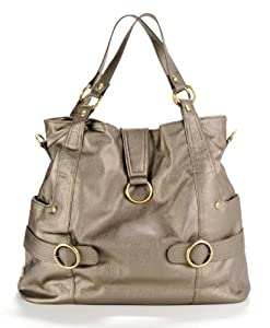 timi & leslie Hannah 7-Piece Diaper Bag Set, Pewter