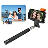 Product B00RXK1YYQ - Product title Generic Extendable Handheld Wireless Bluetooth Monopod Tripod Selfie Stick for Iphone 5s 5c 6 Plus 5.5 for Samsung Galaxy S5 Black