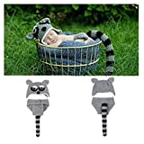 DAYAN Cute Fox Style Baby Infant Newborn Handmade Crochet Knitted Unisex Baby Cap Outfit Baby Photograph Props