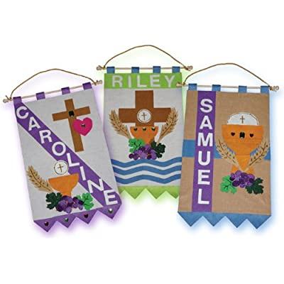 First Holy Communion Banner Kit- for Girls and Boys- Unlimited Options
