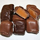 Chocolate Covered Caramels - No Salt (Select Milk or Dark Chocolate) (With a No Melt Guarantee)