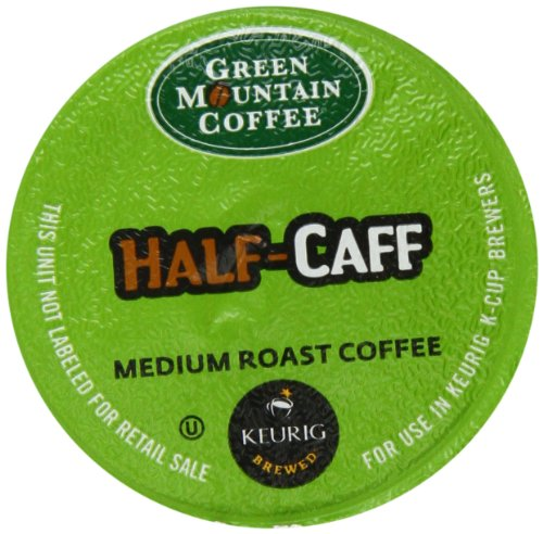 Green Mountain Coffee, Half-Caff K-Cup Portion Pack for Keurig Brewers, 50 count
